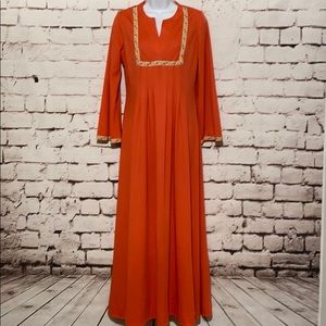 ✨VINTAGE✨Julie Miller of CA Maxi Dress, Size M